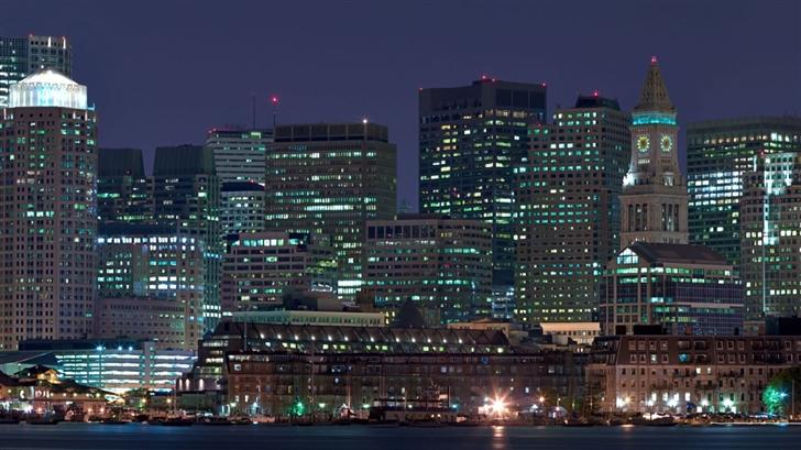 City Skyline Mac Wallpaper
