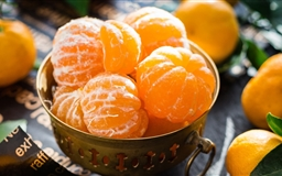 Mandarin Oranges Fruits Mac wallpaper