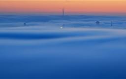 October Fog Mac wallpaper