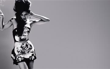 Supermodel Adriana Lima Mac wallpaper