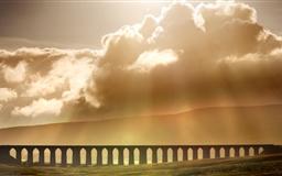 Ribblehead Viaduct Landscape Mac wallpaper