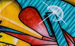Graffitti Mac wallpaper