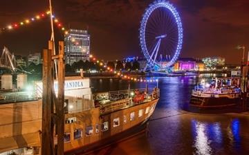 London At Night Mac wallpaper