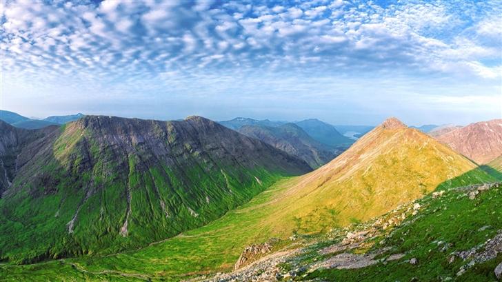 Panoramic Summit View Mac Wallpaper