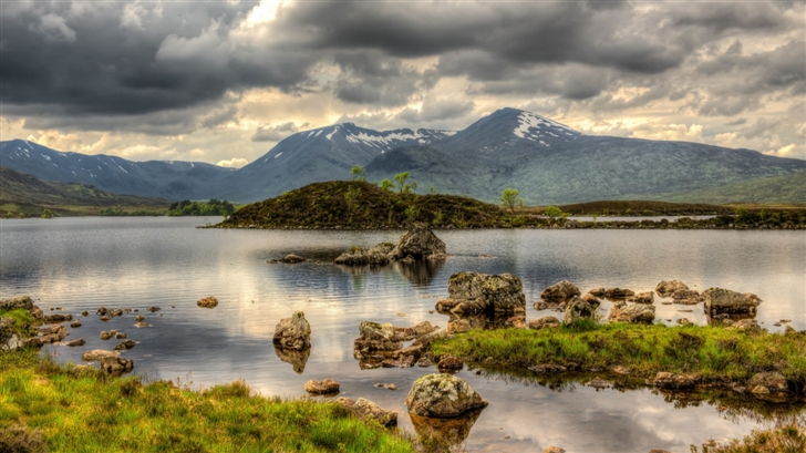 Rannoch Moor Scotland Mac Wallpaper