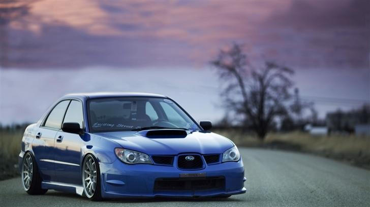 Subaru Impreza Mac Wallpaper