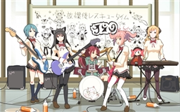 Anime Music Band Mac wallpaper