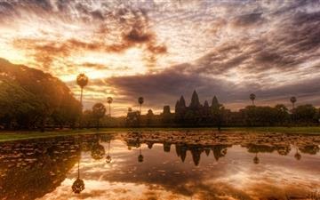 Angkor Wat Cambodia Mac wallpaper