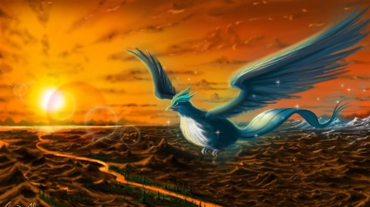 Articuno Pokemon Mac Wallpaper