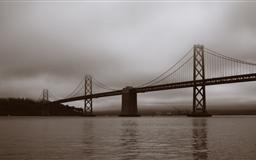 Bay Bridge San Francisco Califonia Mac wallpaper
