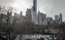 Central Park Ice Skating Mac wallpaper