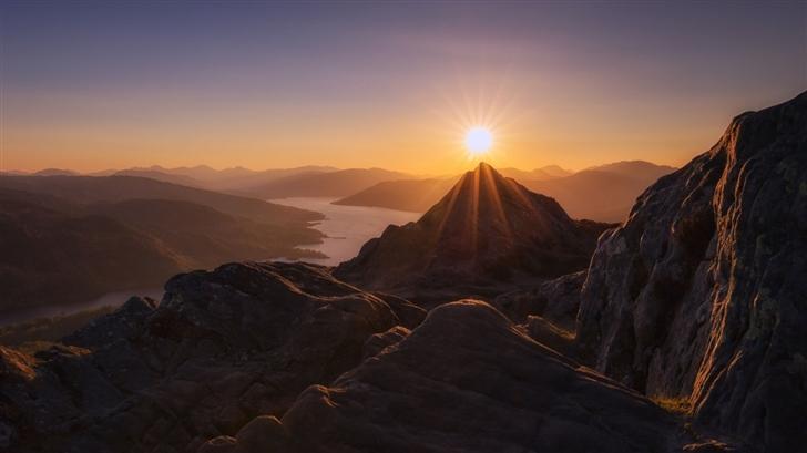 Ben A Mountain Scotland Mac Wallpaper