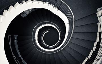 Spiral Stairscase Mac wallpaper