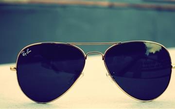 The Sunglasses Mac wallpaper