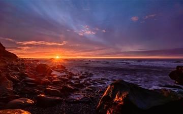Sunset Sparkle Mac wallpaper
