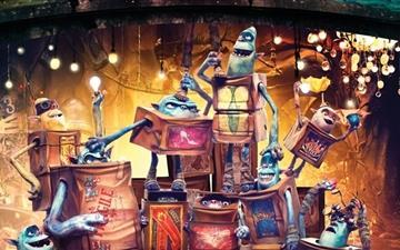 The Boxtroll Characters Mac wallpaper
