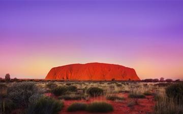 Uluru Rock Mac wallpaper