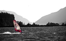 Wind Surfing In The Columbia River Mac wallpaper