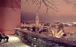 Winter In Tallinn Mac wallpaper