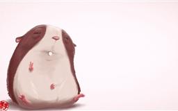Funny Hamster Mac wallpaper