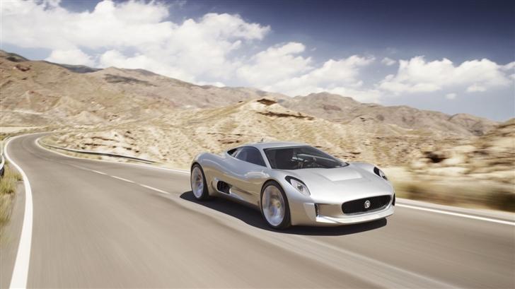 Jaguar Desert Mac Wallpaper