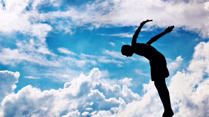 Jump To The Sky Mac Wallpaper