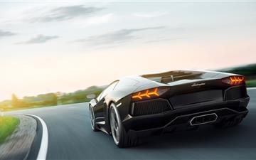 Lamborghini Aventador Art Mac wallpaper