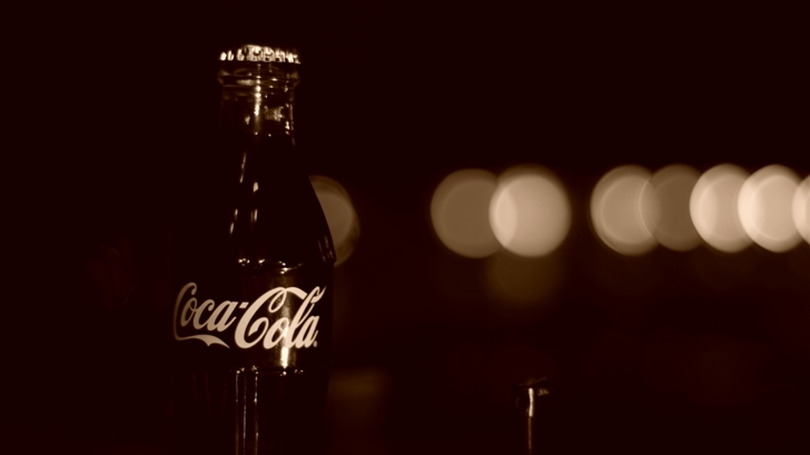 Old Coca Cola Bottle Mac Wallpaper