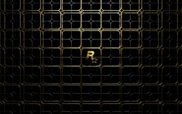 Gold Lattice Mac wallpaper