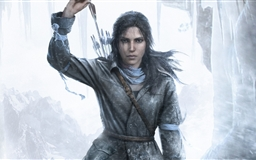 Rottr Lara Croft Mac wallpaper
