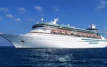 Cruise Ship Journey Mac wallpaper