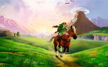 The Legend Of Zelda Ocarina Mac wallpaper