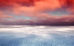 Hudson Bay Winter Mac wallpaper