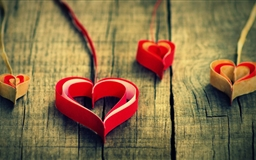 Paper Heart Mac wallpaper