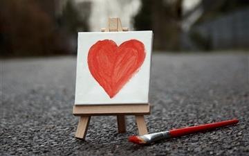 Love Paint Mac wallpaper