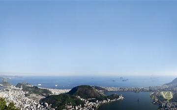 Rio De Janeiro Panorama Mac wallpaper