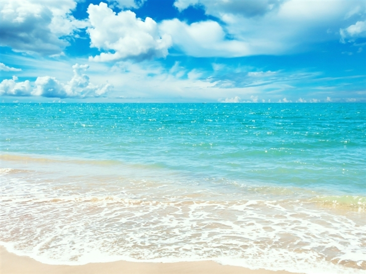 Sunny Beach New Ipad Wallpapers Daily New Ipad Wallpaper: Sunny Day Mac Wallpaper Download