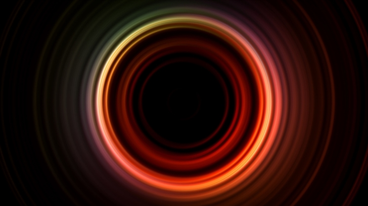 Abstract Circle Mac Wallpaper