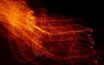 Light In High Motion Locks Like Fire Mac wallpaper
