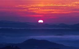 Mountain Sunset Mac wallpaper