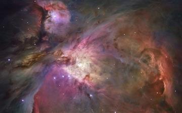 Orion Nebula Bubble Mac wallpaper