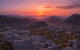 Scotland Highland Sunset Mac wallpaper