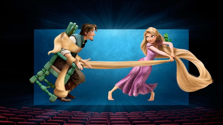 Tangled Movie Mac Wallpaper