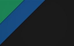 Material Dark Green And Blue Mac wallpaper