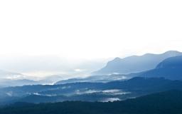 Blue Mountains Mac wallpaper