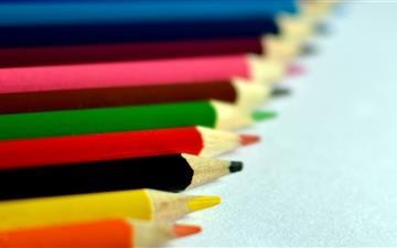 Colorful Pencil Mac wallpaper