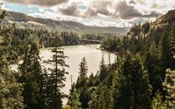 Lost Creek Lake Mac wallpaper
