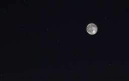 Moon And Ursa Major Mac wallpaper