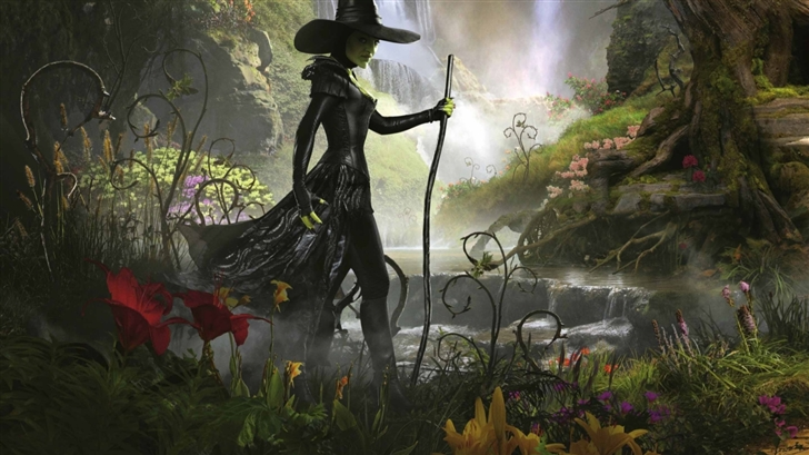 The Great And Powerful Witch Mac Wallpaper