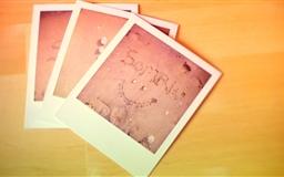 Polaroid Photos Mac wallpaper